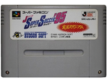 """J.League Super Soccer '95"" no box, Игра для Nintendo Super Famicom NTSC-Japan"