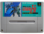 """Gundam F91"" no box, Игра для Nintendo Super Famicom NTSC-Japan"