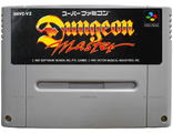 """Dungeon Master"" no box, Игра для Nintendo Super Famicom NTSC-Japan"