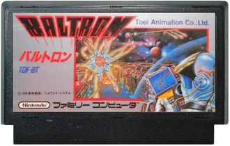 """Baltron"" Игра для Денди, Famicom Nintendo. Made in Japan"