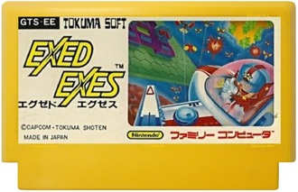 """Exed Exes"" Игра для Денди, Famicom Nintendo. Made in Japan"