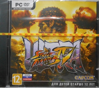 """Ultra Street Fighter IV"" [PC, Jewel, русские субтитры]"
