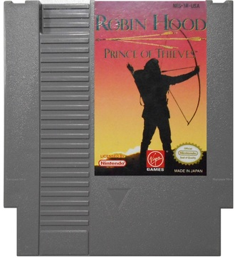 Robin Hood: Prince of Thieves. Игра для NES (Made in Japan)