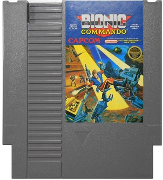 """Bionic Commando"" Игра для NES (Made in Japan)"