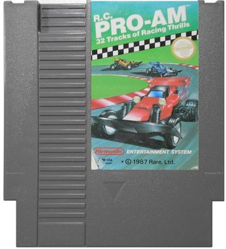 """Pro-Am"" Игра для NES (Made in Japan)"