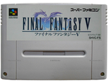 """Final fantasy 5"" no box, Игра для Nintendo Super Famicom NTSC-Japan"
