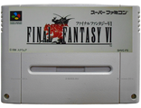 """Final fantasy 6"" no box, Игра для Nintendo Super Famicom NTSC-Japan"